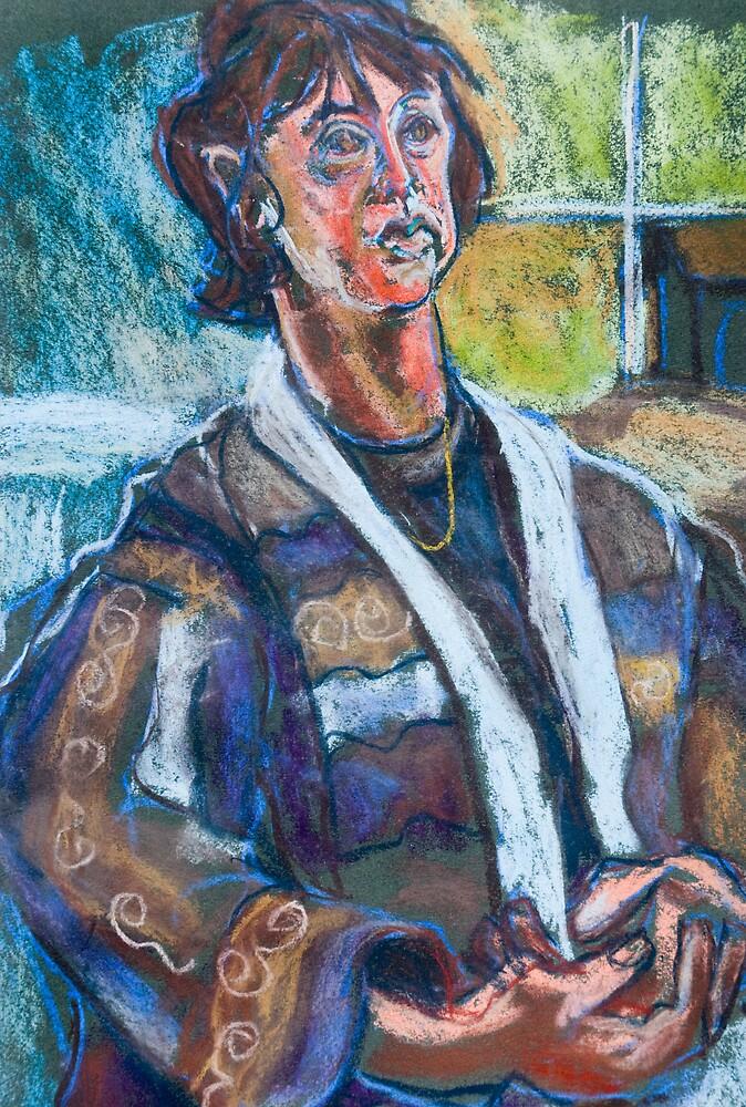 Portrait of a Woman by bluerabbit