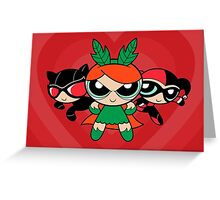 Supervillain Girls Greeting Card