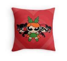 Supervillain Girls Throw Pillow