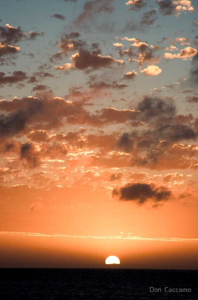Soft Sunset by Don  Caccamo