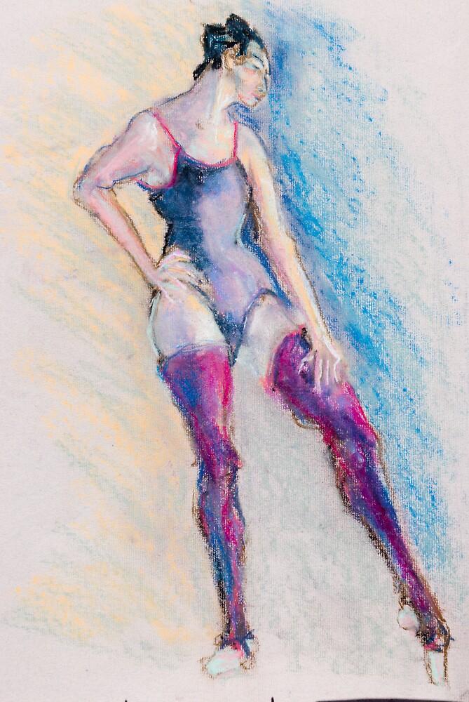 Standing Dancer by bluerabbit