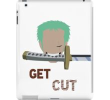 Get Cut  iPad Case/Skin