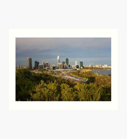 Perth Western Australia  Art Print