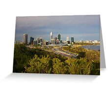 Perth Western Australia  Greeting Card