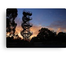 Kings Park DNA Tower At Sunset  Canvas Print