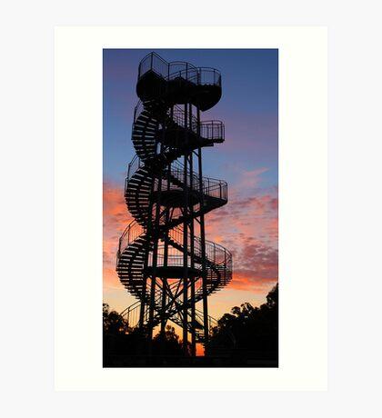 Kings Park DNA Tower  Art Print