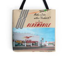 Plachter Oldmobile Car Dealership Ad 1959 Reproduction Tote Bag