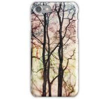 Four trees iPhone Case/Skin