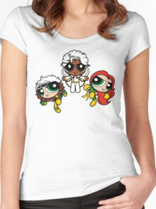 Chemical X-Girls Women's Fitted Scoop T-Shirt