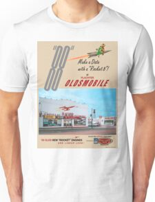 Retro Auto Ad for Platcher Oldsmobile Cadillac 1959 Unisex T-Shirt