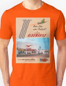 Retro Auto Ad for Platcher Oldsmobile Cadillac 1959 T-Shirt