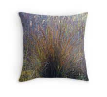 Grass Explosion Throw Pillow