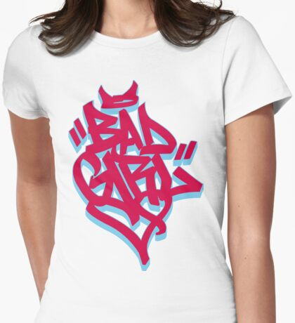 ''BADGIRL'' Womens Fitted T-Shirt
