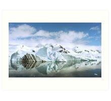 Antarctic Reflections Art Print