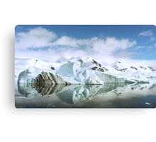 Antarctic Reflections Canvas Print