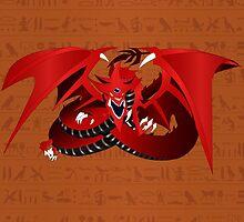Slifer, the Sky Dragon by Crytiv PH