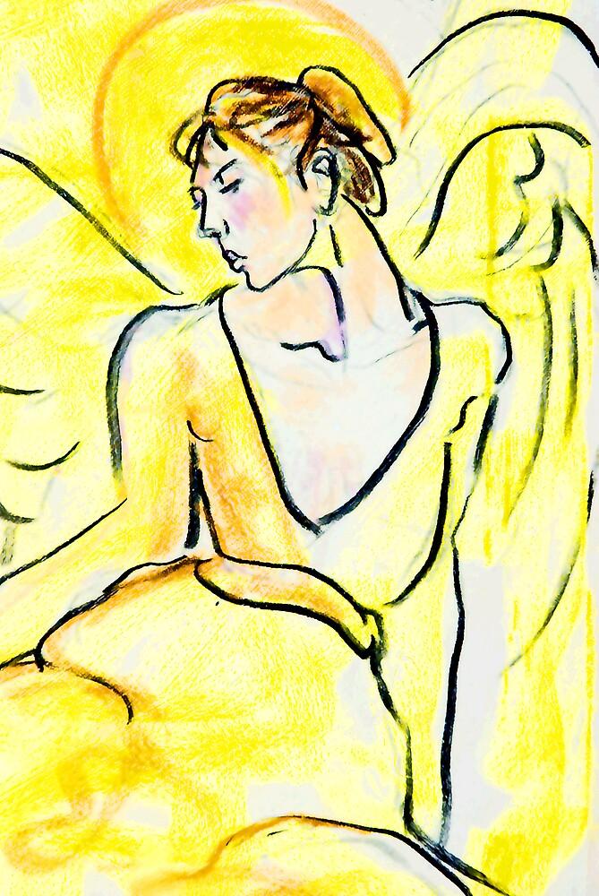 Yellow Angel by bluerabbit