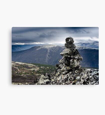 Rondane National Park, Norway. Canvas Print