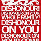 Dishonour on your cow!  by nimbusnought