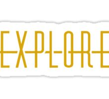 Explore (Arrow) Sticker