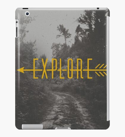 Explore (Arrow) iPad Case/Skin