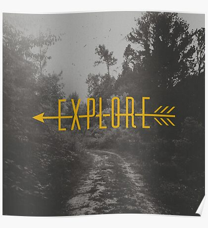 Explore (Arrow) Poster