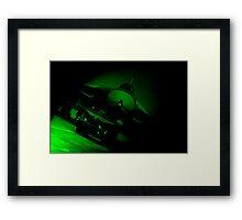 Night vision  Framed Print