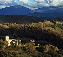 November Scenery in Umbria  by Alessandro Pinto