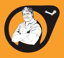 Gaben Half-Life Logo by elarry