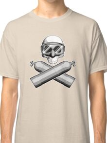 Diving Skull Classic T-Shirt