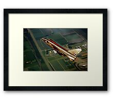 Electric Lightning Framed Print