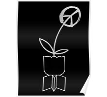 Peace Flower. Poster