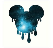 Space Mouse Art Print