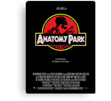 Anatomy Park - movie poster shirt Canvas Print
