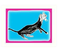 Cat Nap 3 Art Print