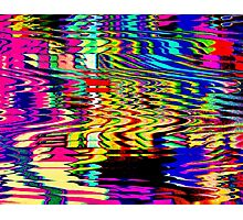 Polluted Pond Photographic Print