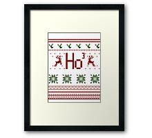 Sweater | HoHoHo Framed Print