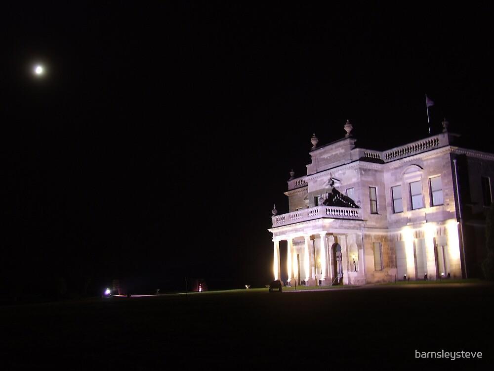 Brosdworth Hall by night 2 by barnsleysteve