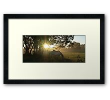 GOOD DAY COMING Framed Print