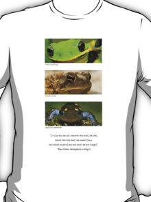 Amphibian conservation T-Shirt