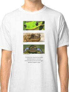 Amphibian conservation Classic T-Shirt