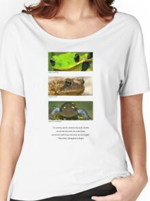 Amphibian conservation Women's Relaxed Fit T-Shirt