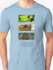 Amphibian conservation Unisex T-Shirt