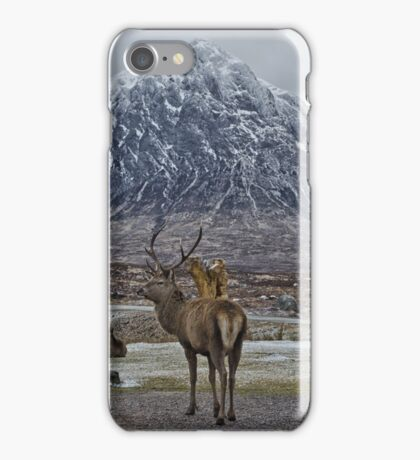 The Deer of Buchaile Etive Mor iPhone Case/Skin