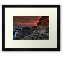 Kimmeridge V Framed Print