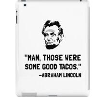 Lincoln Good Tacos iPad Case/Skin