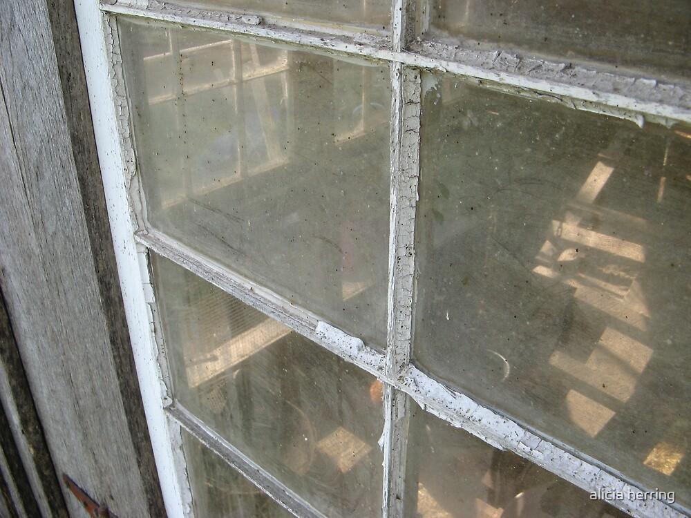 Through the Barn Window by alicia herring