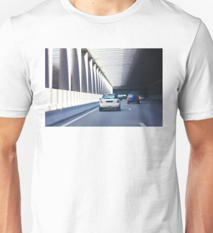 Paris - Pont de l'Alma tunnel where on 31/8/97, Princess Diana was fatally killed Unisex T-Shirt