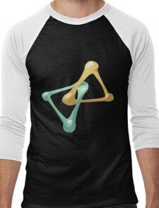 Glitch Wardrobia mental item 11 w1 Men's Baseball ¾ T-Shirt