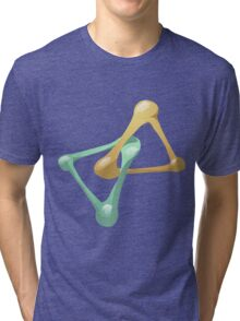 Glitch Wardrobia mental item 11 w1 Tri-blend T-Shirt